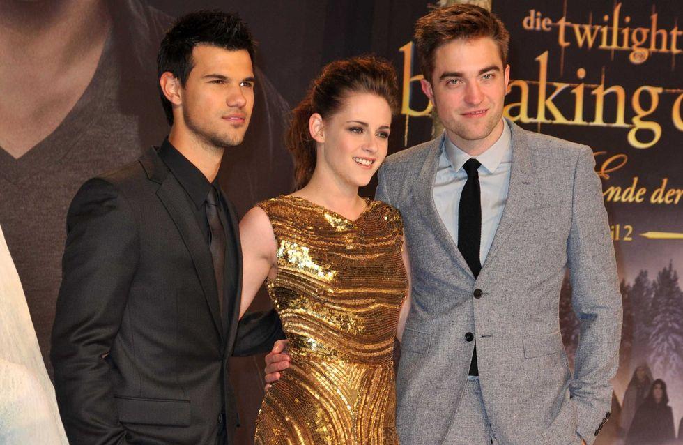 Kristen Stewart : Un Look en or avec Robert Pattinson (Photos)