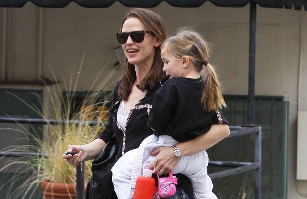 Jennifer Garner : Retrouvailles avec sa petite famille (Photos)