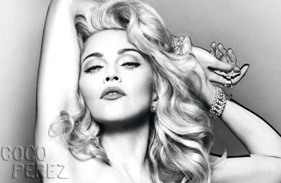 Madonna : Elle pose nue pour son nouveau parfum (Photos)