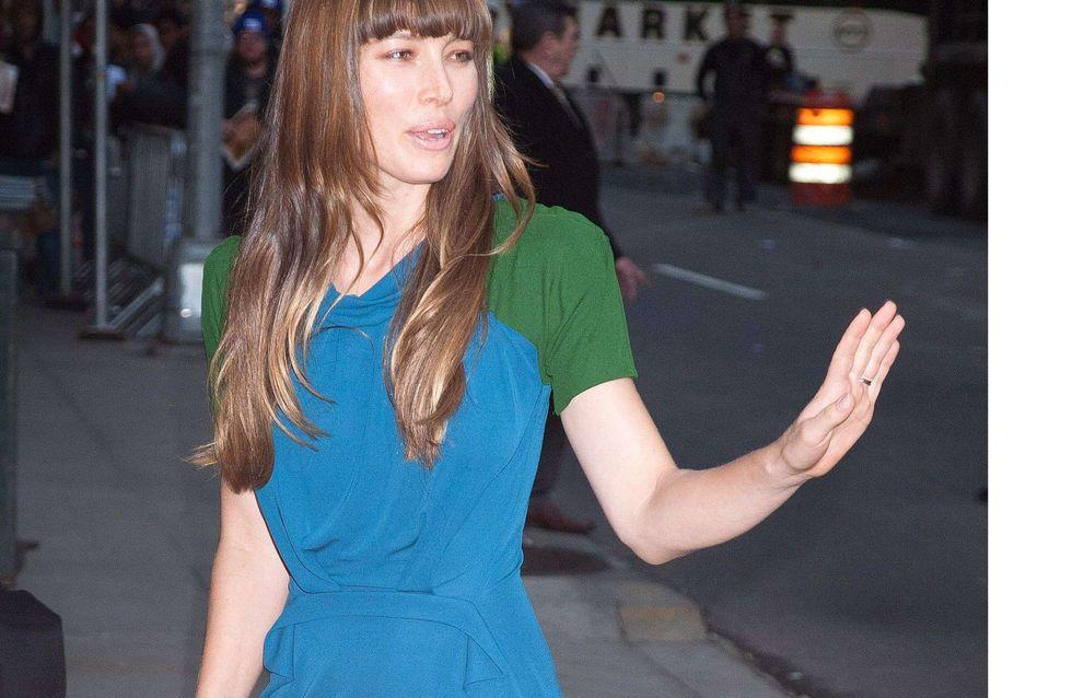Jessica Biel : Son look un peu trop grand-mère... (Photos)