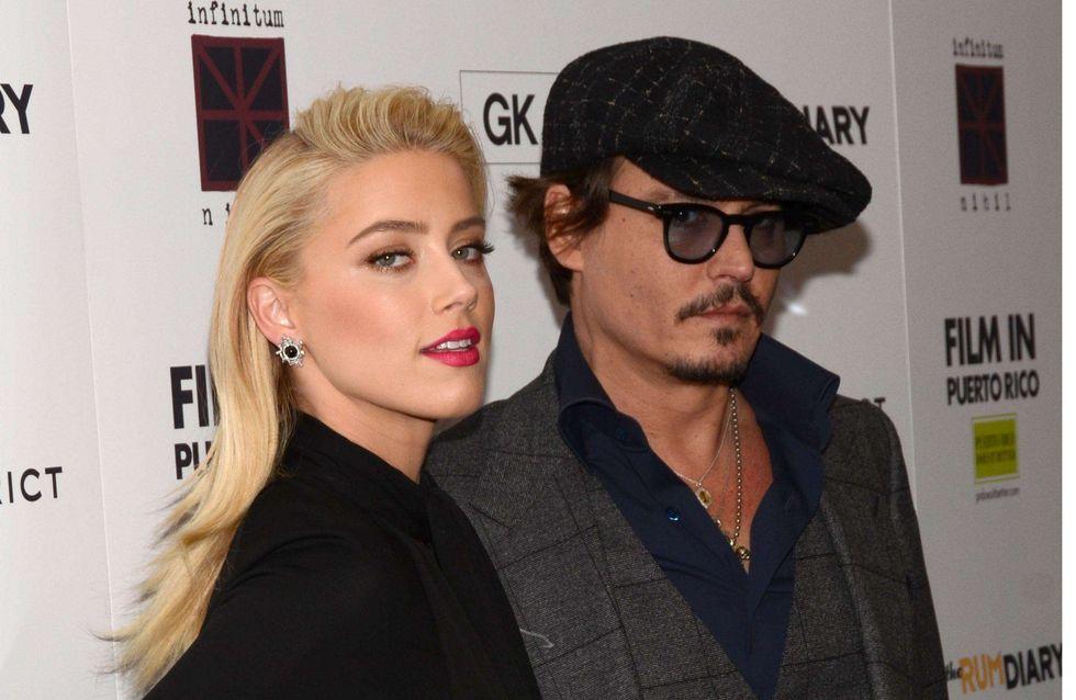 Johnny Depp et Amber Heard vont vivre ensemble