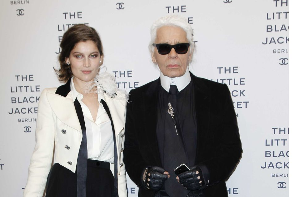 Laetitia Casta : Son look androgyne pour Karl Lagerfeld (Photo)