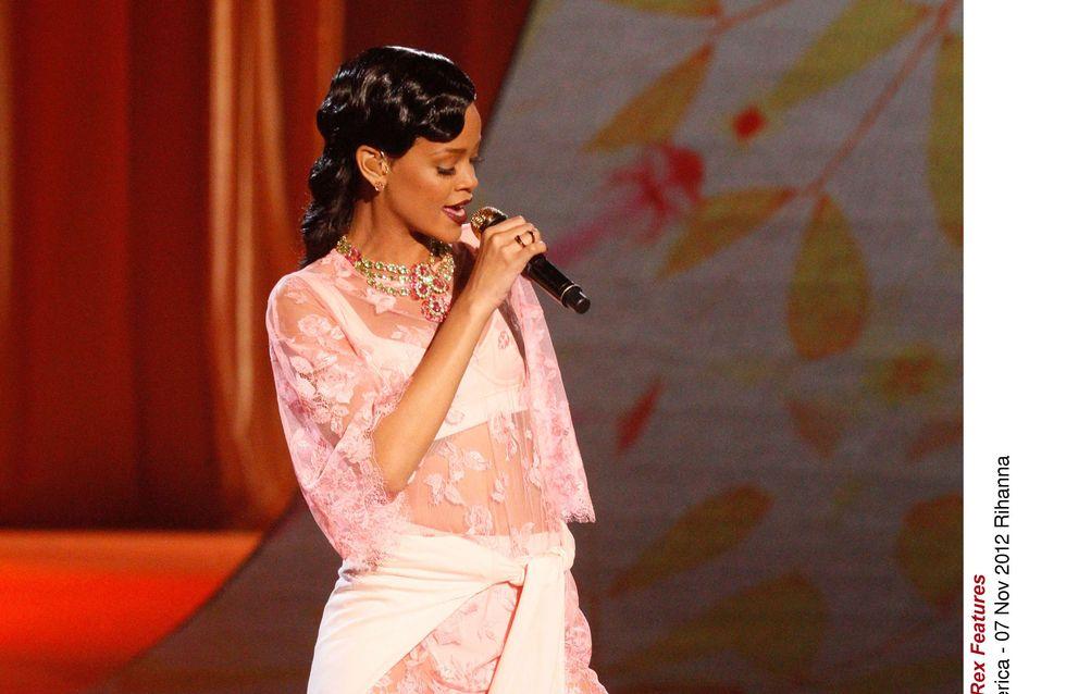 Rihanna n'a peur de rien sur le red carpet !
