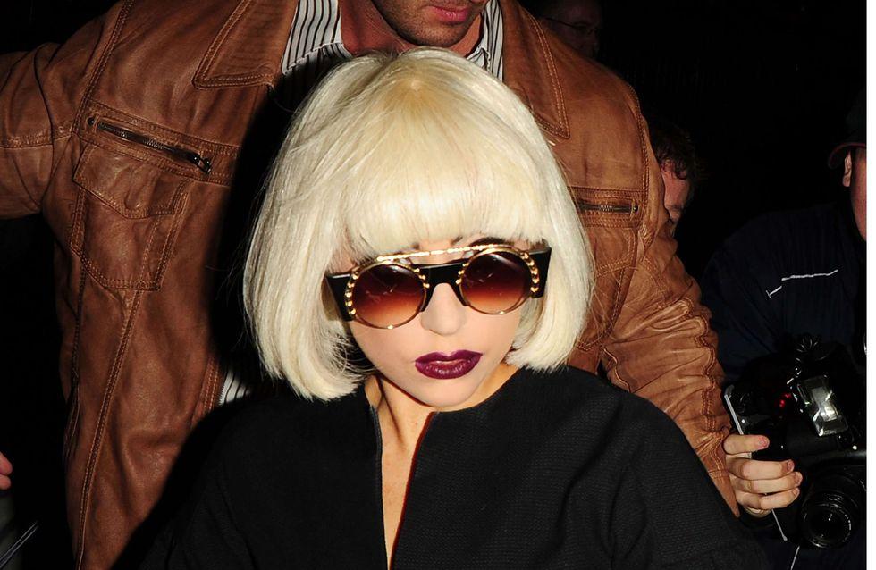 Lady Gaga : Sa nouvelle coupe de cheveux rock (Photos)