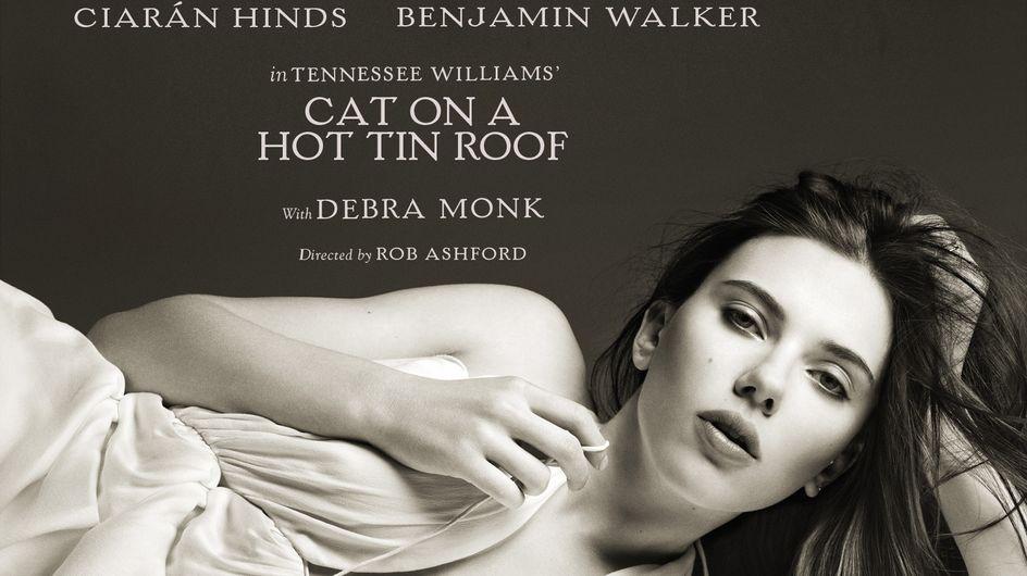 Scarlett Johansson : Une chatte sur un toit brûlant (Photos)