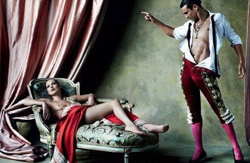 Kate Moss : Elle pose nue dans Vogue (Photos)