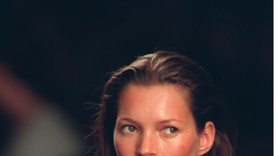 Kate Moss : Sa toute première photo vendue aux enchères (Photos)