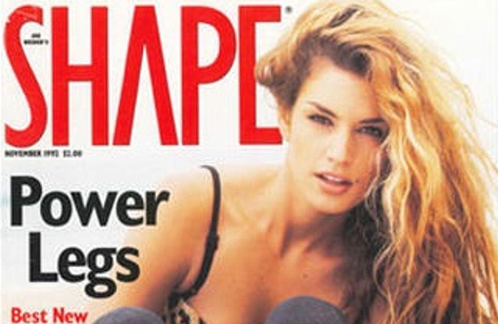 Cindy Crawford : Toujours au top à 46 ans en couverture de Shape (Photos)