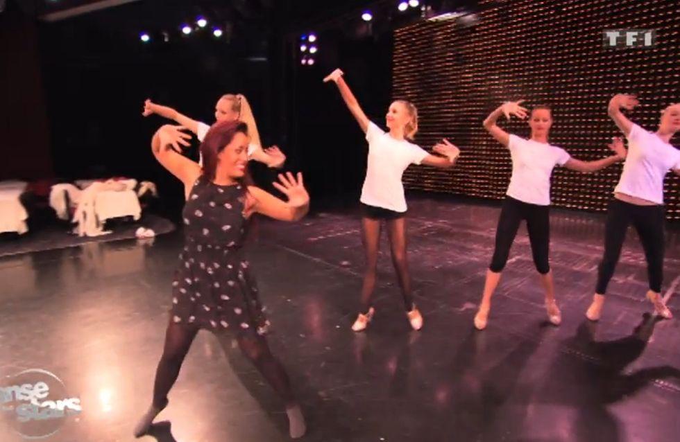 Danse avec les stars : Amel Bent sensuelle avec les filles du Lido (Vidéo)
