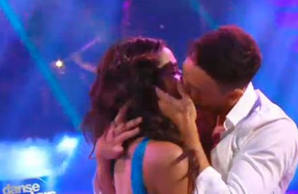 Shy'm : Son baiser langoureux avec Maxime Dereymez (Vidéo)
