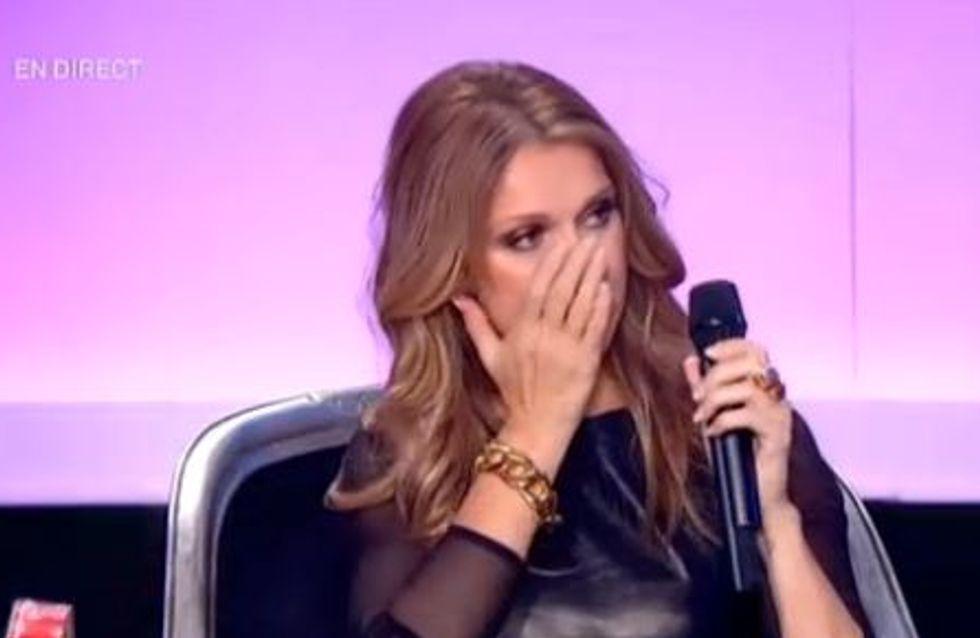 Céline Dion : En larmes sur le plateau de France 2 (Vidéo)