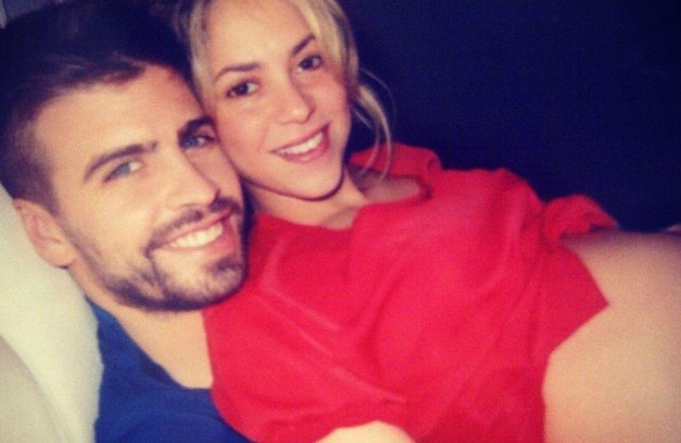 Shakira : Rayonnante avec son gros ventre (Photos)