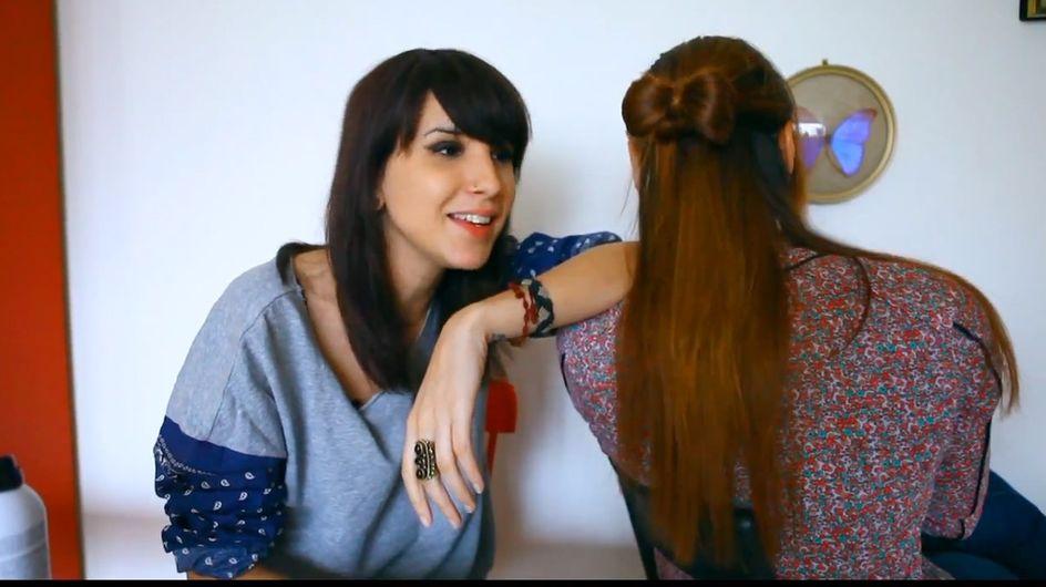Tuto du chignon-nœud dans La Beauté selon Caro ! (Vidéo)