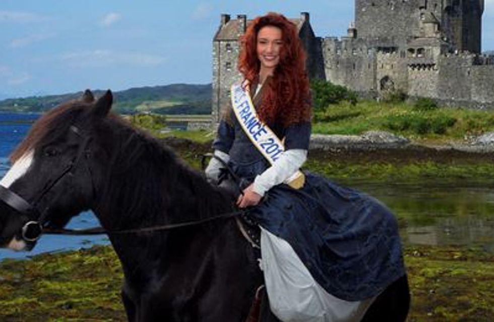 Delphine Wespiser, Miss France 2012, se la joue Rebelle ! (Vidéo)