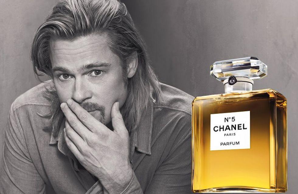 Brad Pitt réagit aux parodies de sa pub Chanel