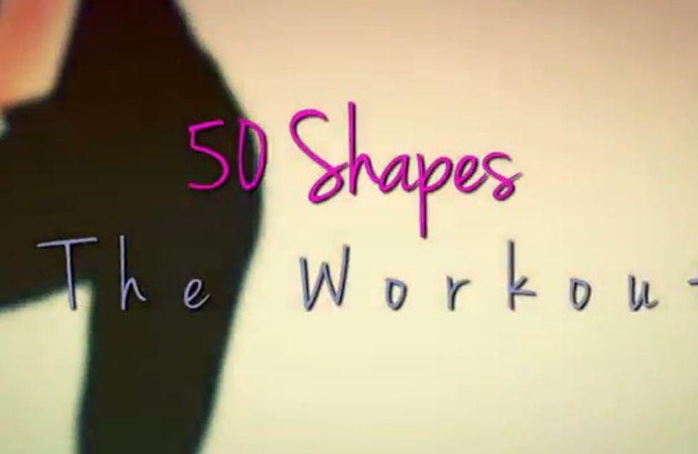 Fifty Shades of Grey : Des exercices de fitness inspirés du livre (Vidéo)