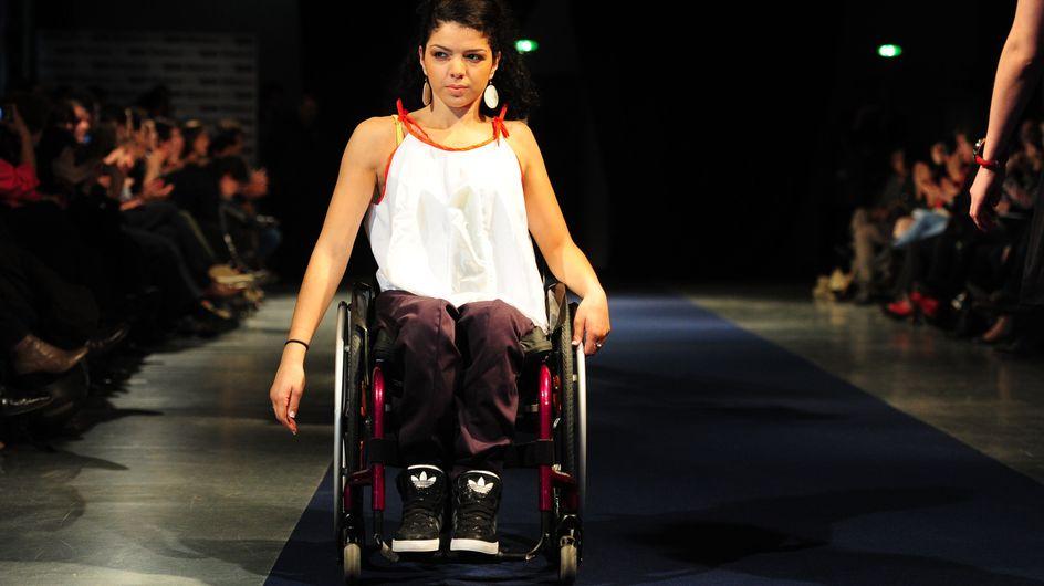 Mode : Premier défilé avec des mannequins handicapés (Photos)