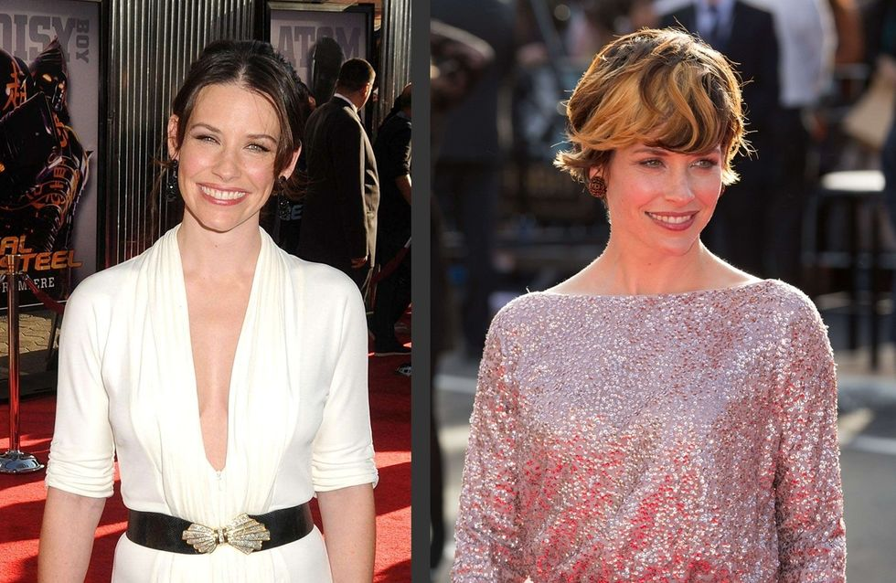 Evangeline Lilly : Son incroyable transformation capillaire ! (Photos)