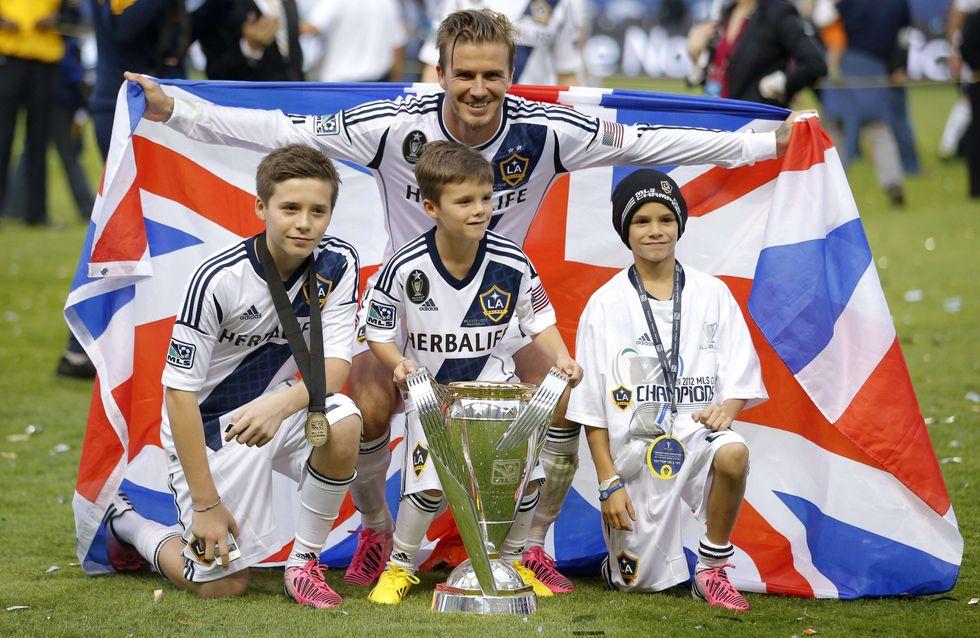 Les fils de Victoria et David Beckham sous les projecteurs !