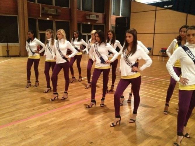 Miss France 2013 répétition