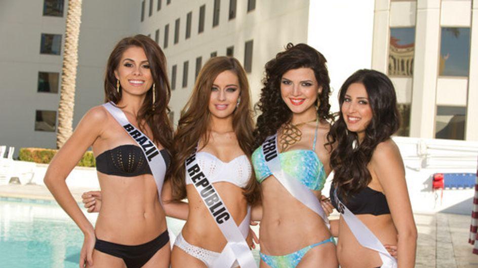Miss Univers : Les plus belles filles du monde en bikini (Photos)
