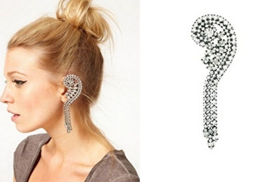 Ear cuff : La nouvelle boucle d'oreille tendance (Photos)