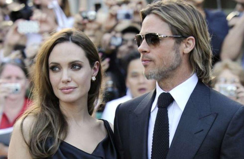 Angelina Jolie et Brad Pitt : Les alliances sont achetées !