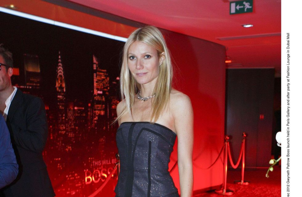 Gwyneth Paltrow : Sexy comme jamais en Hugo Boss ! (Photos)