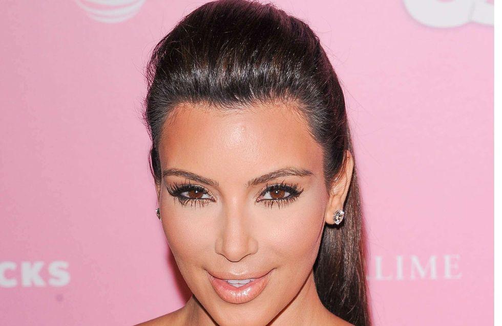 Kim Kardashian : Sexy en lingerie et fourrure (Photos)