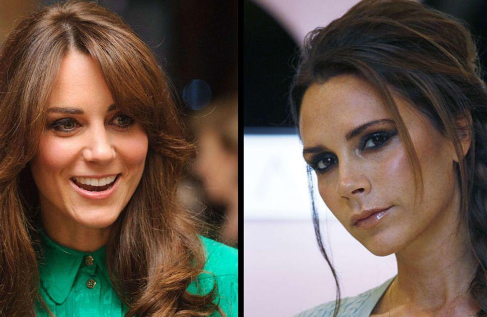 Kate Middleton enceinte : Victoria Beckham veut habiller le bébé