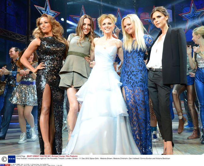 Victoria Beckham et les Spice Girls