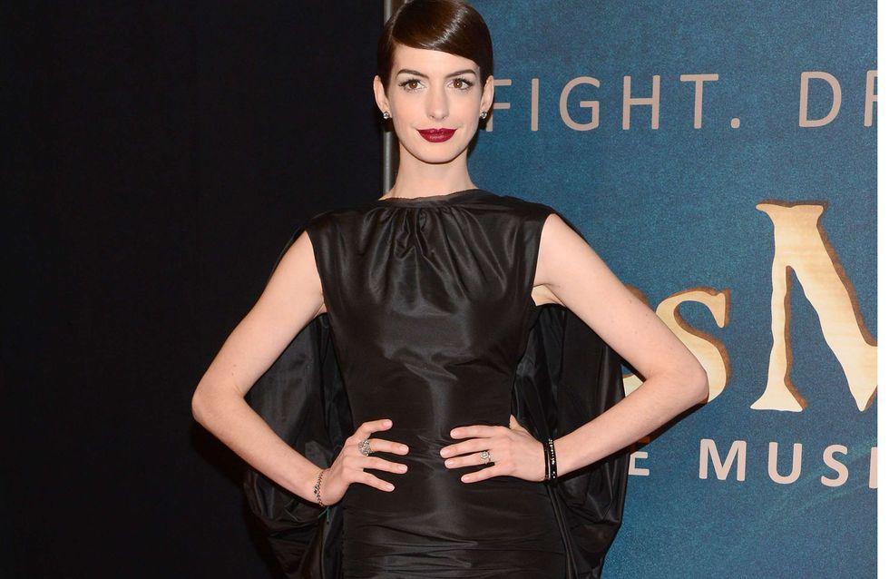 Anne Hathaway : Elle a oublié sa culotte !