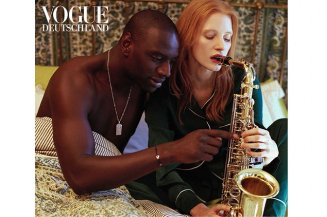omar sy et jessica chastain