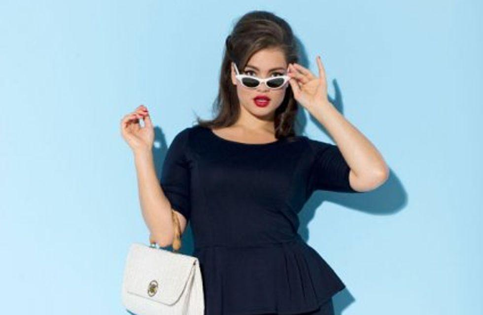 Taillissime crée la parfaite petite robe noire pour les rondes !