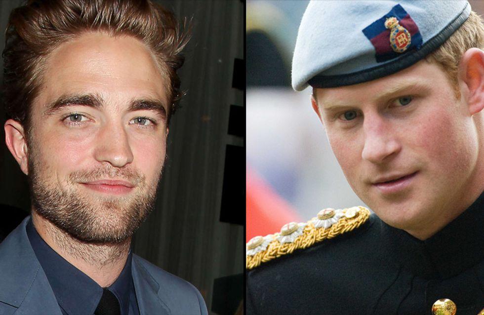 Robert Pattinson et le Prince Harry : Célibataires les plus convoités de 2012