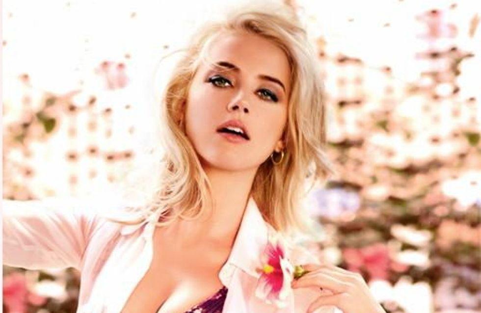 Amber Heard : Elle est le visage du nouveau parfum Guess (Photos)