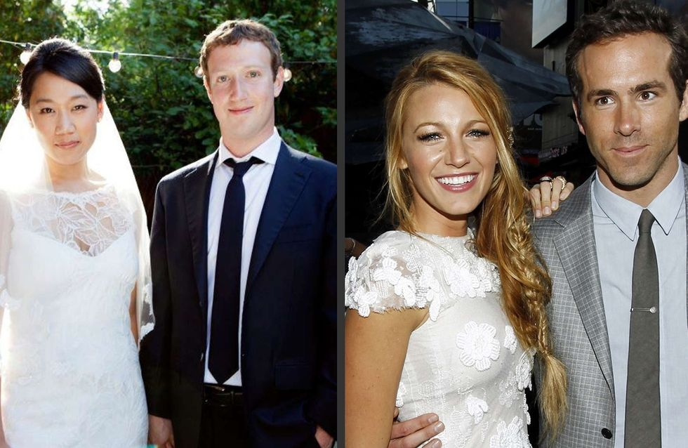Best of 2012 : Les mariages de stars qui nous ont fait rêver