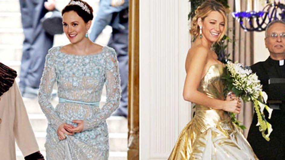 Blake Lively et Leighton Meester : Leurs robes de mariée dans le final de Gossip Girl !