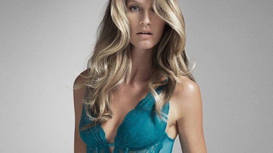 Gisele Bündchen : Ultra sensuelle pour sa collection de lingerie (Photos et Vidéo)