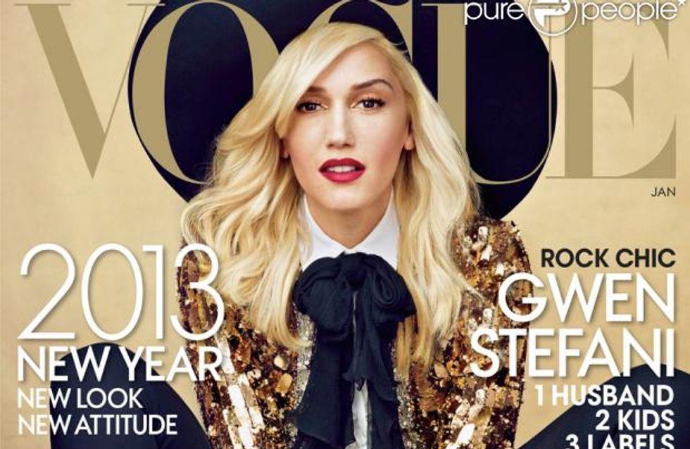 Gwen Stefani : Eblouissante en couverture de Vogue (Photo)