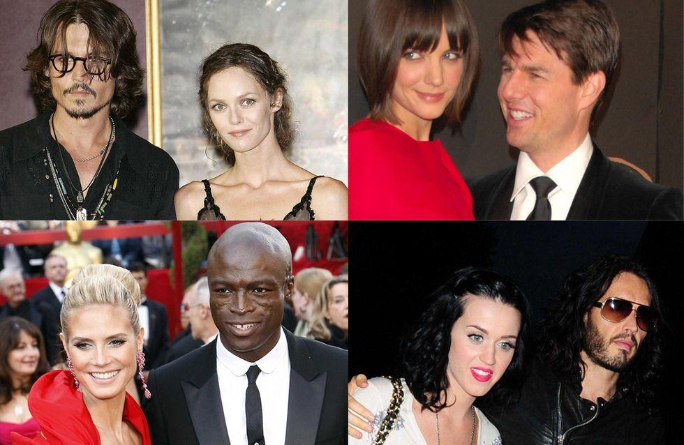 Best of 2012 : Les séparations de stars les plus médiatisées ! (Photos)