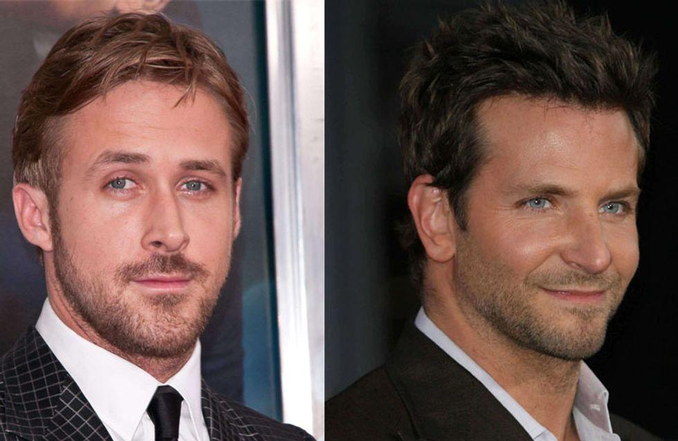 Ryan Gosling et Bradley Cooper : Canons dans leur nouveau film (Vidéo)