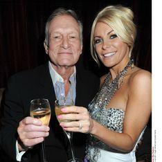 Playboy : Hugh Hefner se marie avec Crystal, de 60 ans sa cadette