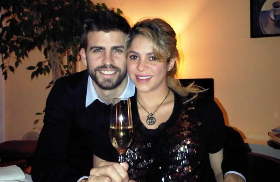 Shakira enceinte et Gerard Piqué souhaitent une bonne année aux fans (Photos)
