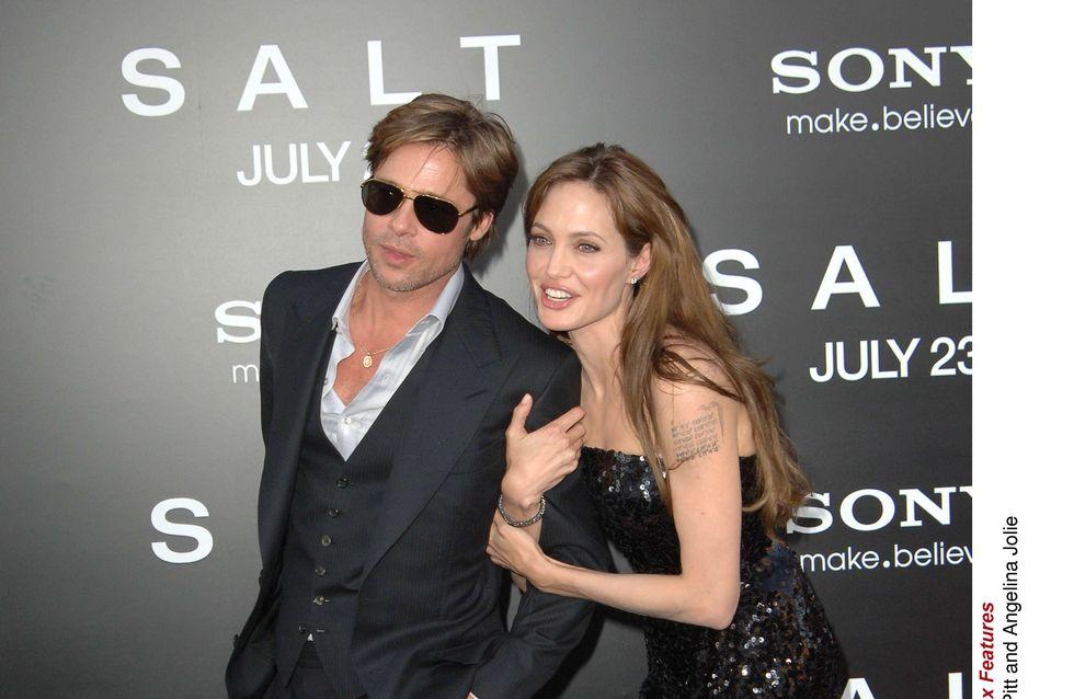 Brad Pitt et Angelina Jolie : Mariés en secret !
