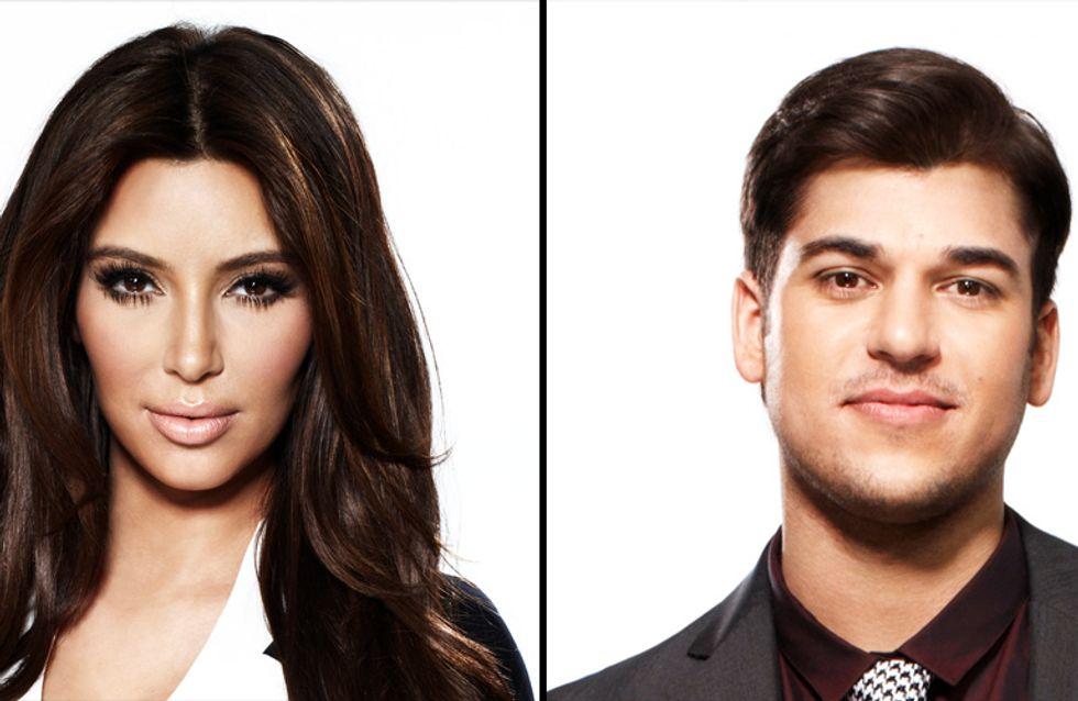 Kim Kardashian enceinte : Son frère Rob n'est pas très content