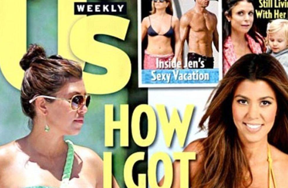 Kourtney Kardashian : Elle a perdu 20 kilos depuis sa grossesse ! (Photos)