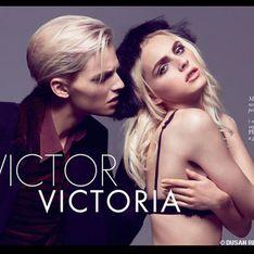 Andrej Pejic : Le top androgyne sublime en couverture du ELLE Serbie (Photos)