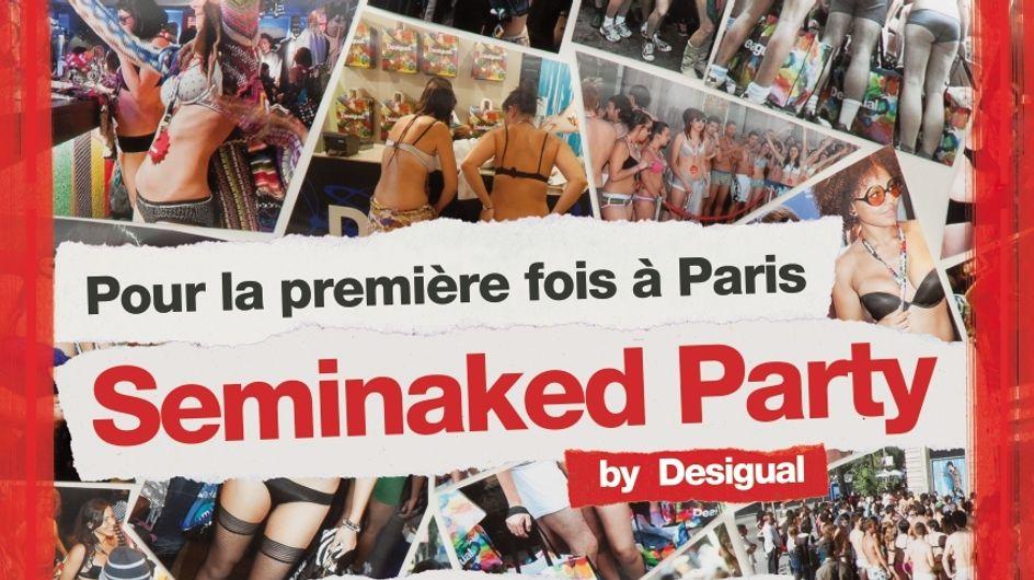 Chez Desigual, venez nus et repartez avec des vêtements gratuits !