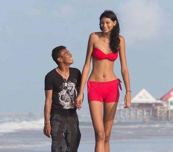Elle est l'adolescente la plus grande du monde ! (Photos)
